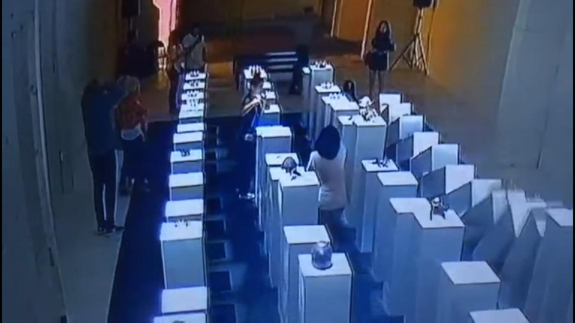 Woman Causes $200,000 Worth of Damage at Art Exhibit While Taking Selfie