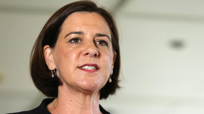 Queensland Liberal National Party Leader Deb Frecklington has slammed the guidelines. Source: AAP/Jono Searle