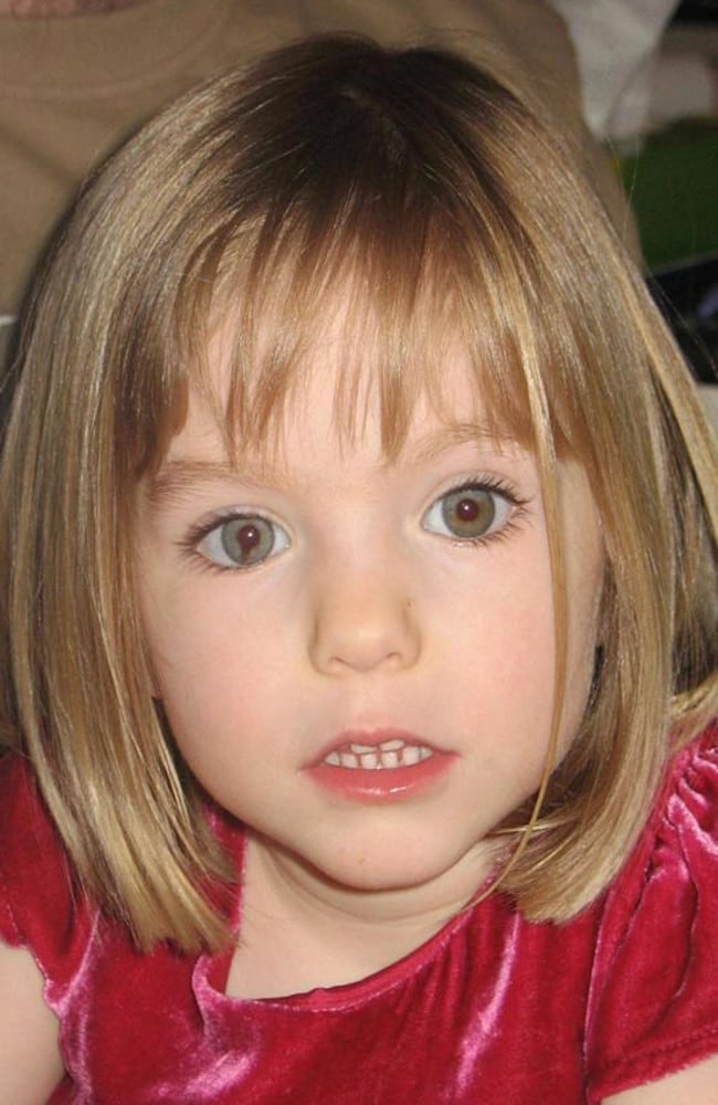 Madeleine McCann went missing in May 2007 and police have combed thousands of bits of information since. Picture: Supplied