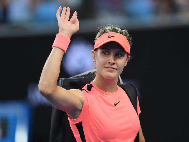 Bouchard wants to get back to her aggressive best.