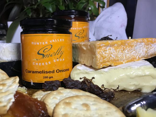 The Smelly Cheese Shop offers local and regional Australian cheeses, housemade relishes and chutneys. Picture: Jenifer Jagielski