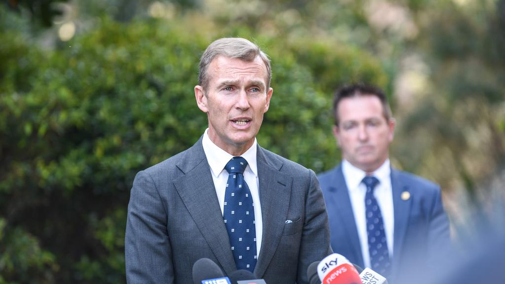 MP Rob Stokes revealed further details of the changes to the bus network for the north of the peninsula. Picture: NCA NewsWire/Flavio Brancaleone