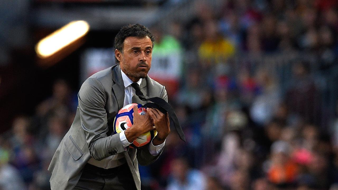 Luis Enrique led Barcelona to consecutive La Liga titles during his three years in charge and lifted the 2015 Champions League.
