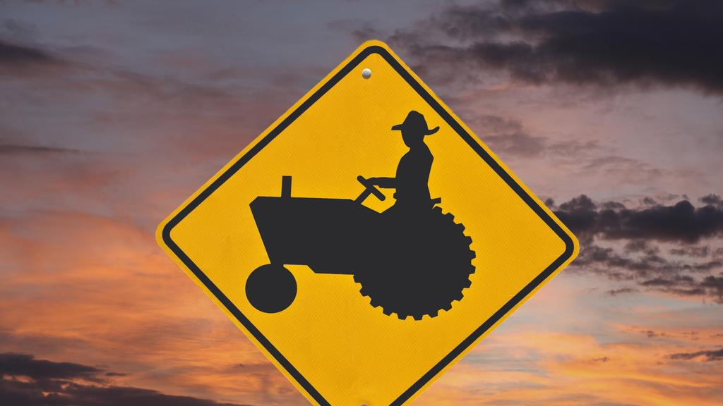 Autonomous tractors and harvesting equipment may further reduce the risk inherent to conventional farming practices.