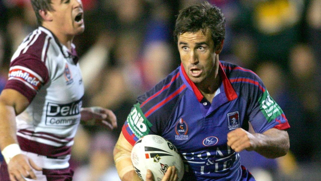 Rugby League Immortal Andrew Johns.