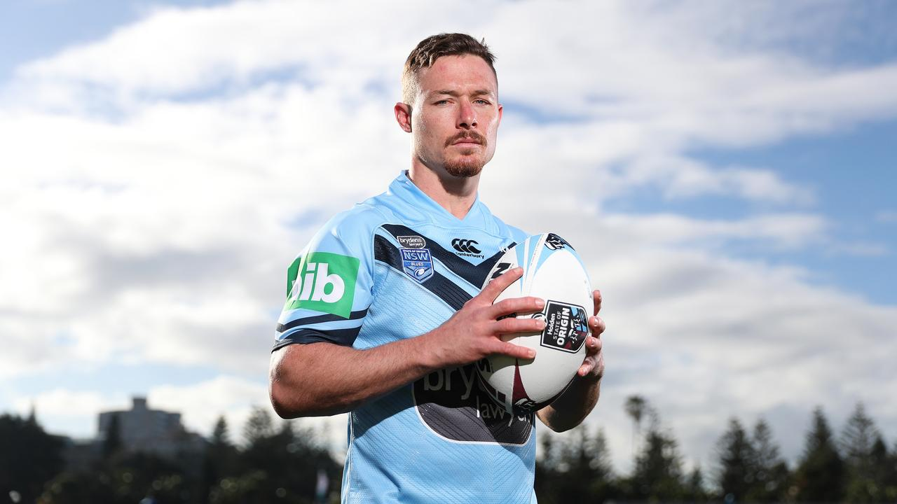 NSW's Damien Cook poses for a portrait.