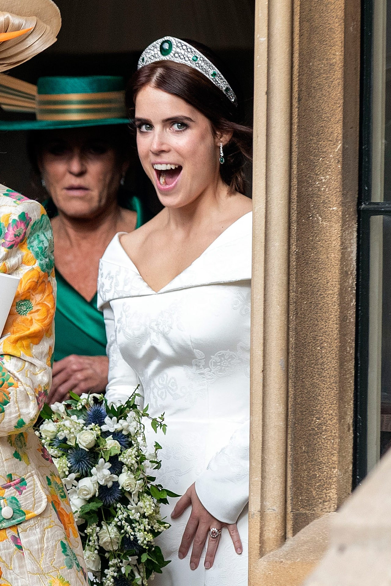 Princess Eugenie stole this beauty trick from Meghan Markle on her wedding day