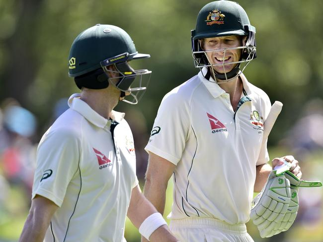Adam Voges' (R) has had an amazing first year in Test cricket.