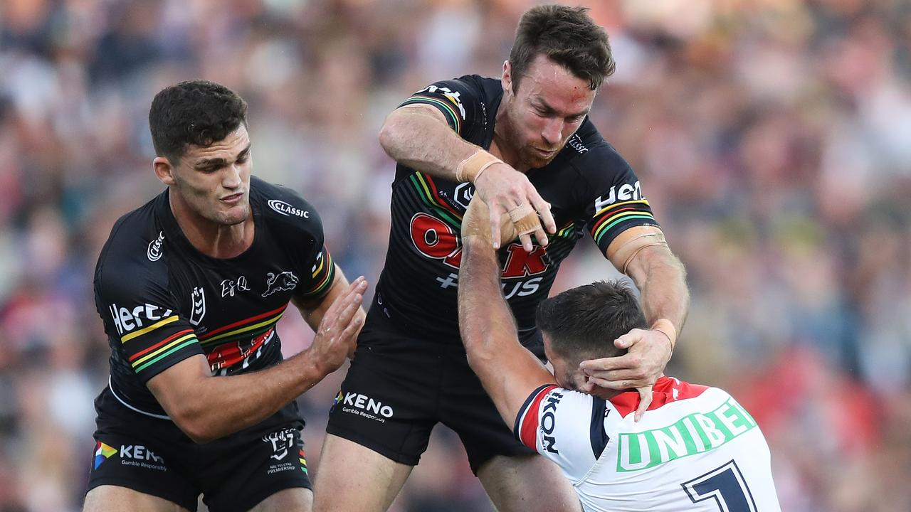 Nathan Cleary has backed James Maloney to do the job if called upon for the Blues.