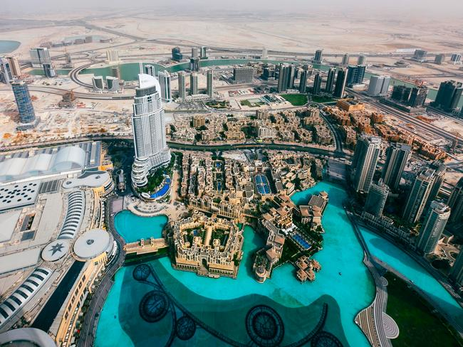 Dubai was just a desert, until enormous reserves of gold and oil were found below the ground. Picture: iStock