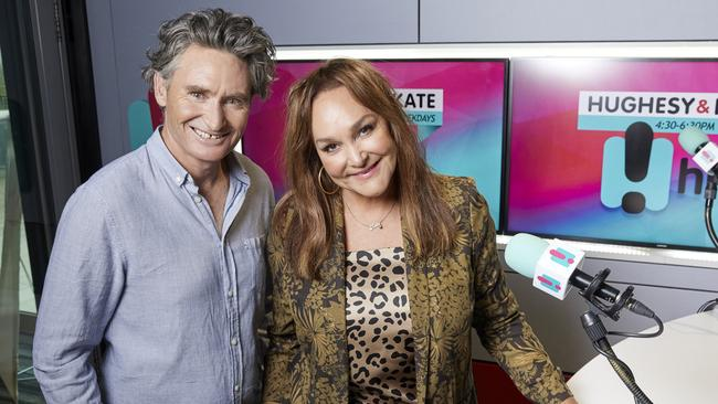 Langbroek and Hughes have been co-hosts for more than a decade. Picture: Black and White Publicity