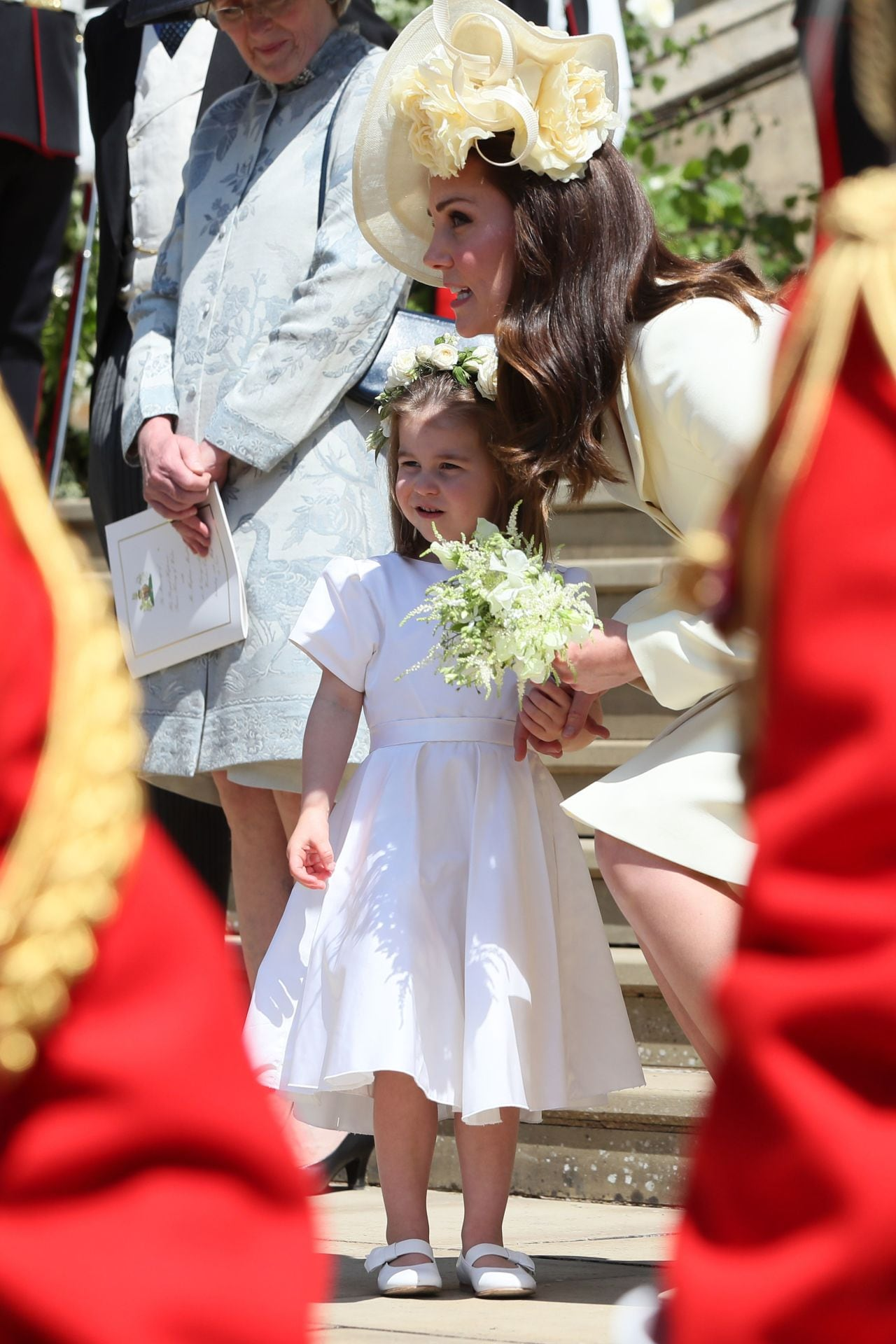 See all the adorable photos of Prince George and Princess Charlotte at the royal wedding