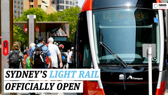First look at Sydney's $2.9b Light Rail