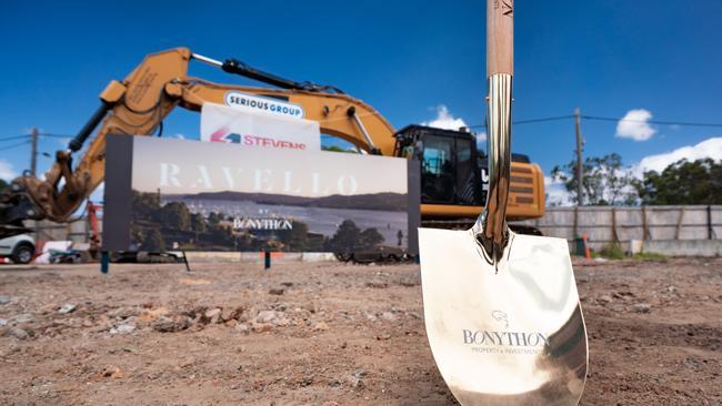 John Singleton has signalled the start of construction for Ravello.