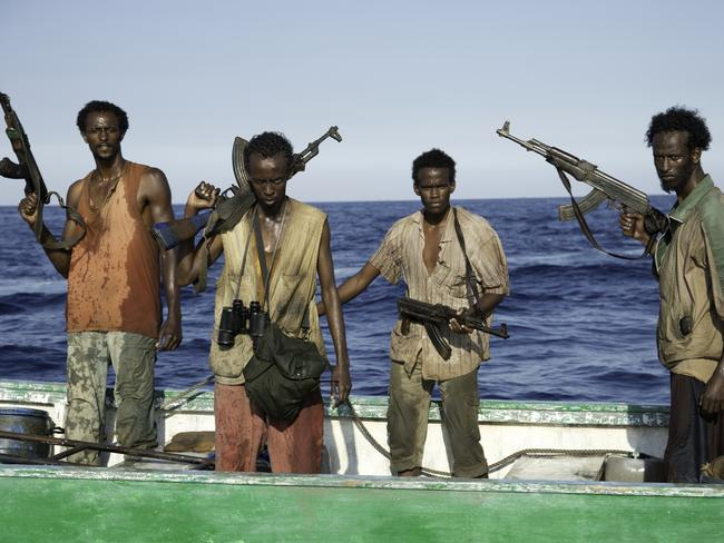 Passengers feared an attack like in the movie  <i>Captain Phillips</i>. Picture: Jason Boland/Columbia Pictures