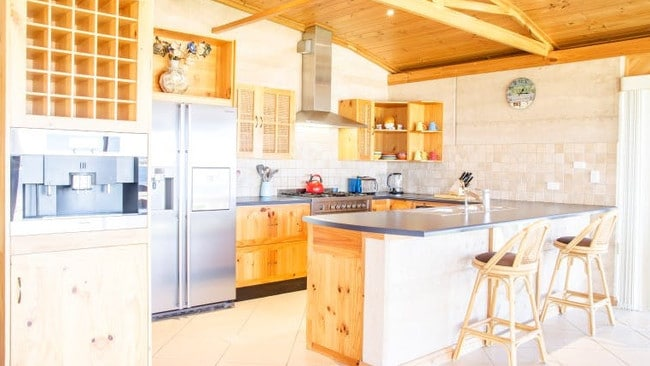 The stylish finishes in the kitchen. Picture: Elders Real Estate