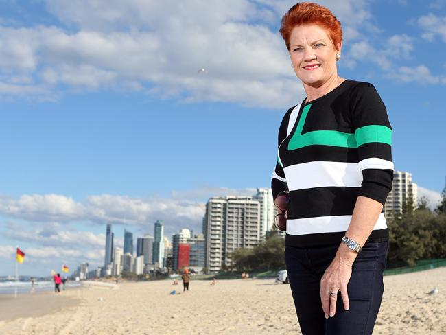 Pauline Hanson was not impressed with Malcolm Turnbull's comments about her. Picture: Supplied.
