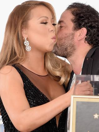 Mariah Carey and Brett Ratner in 2015. Picture: Getty