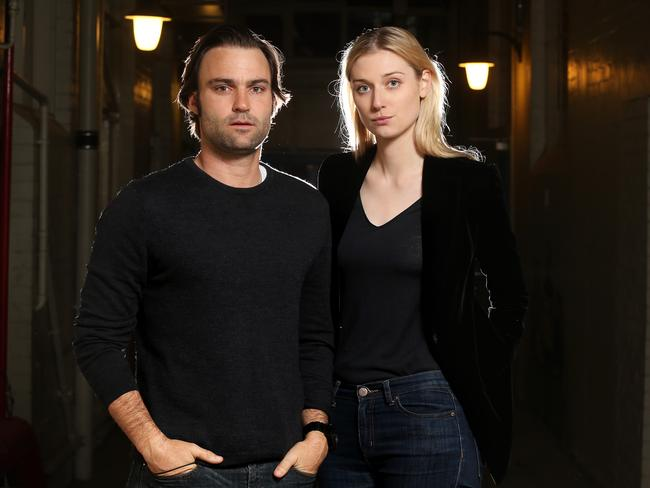 Back on TV ... actors Matthew Le Nevez and Elizabeth Debicki both star in The Kettering Incident.