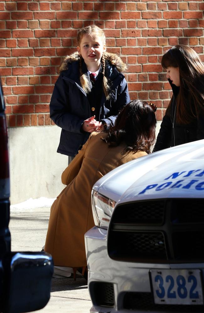 Faith Margaret was on set of The Undoing, too. Picture: BACKGRID Australia