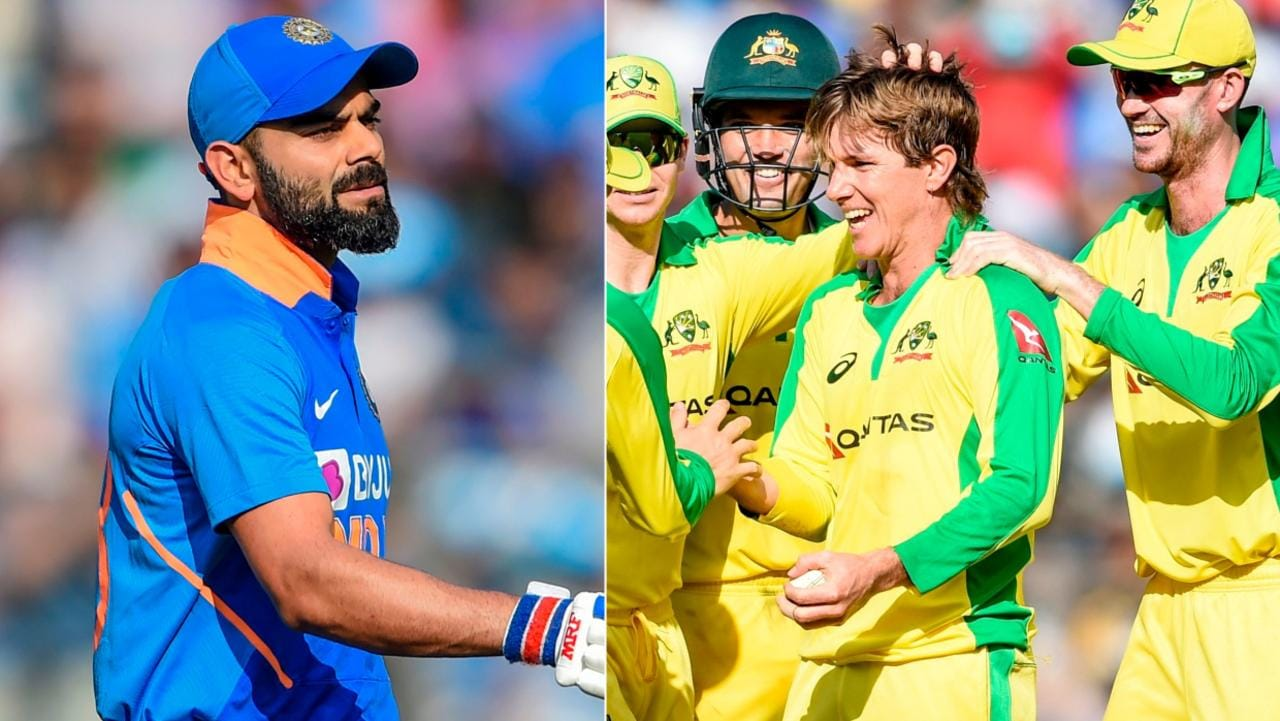 Virat Kohli has got out to Adam Zampa four times in seven innings.
