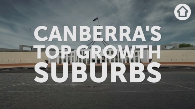 Canberra's top growth suburbs