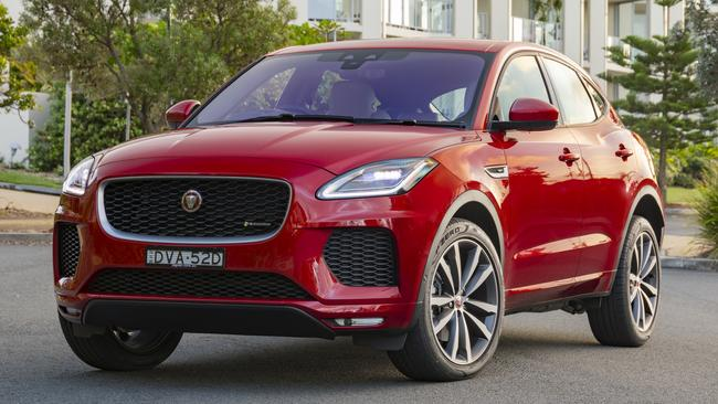 2018 Jaguar E-Pace: Winning size and styling, priced from roughly $50K-$100K.