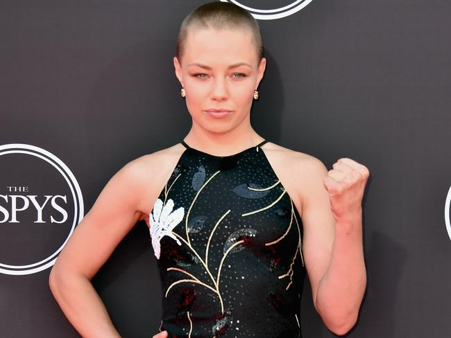 UFC fighter Rose Namajunas was stunning.