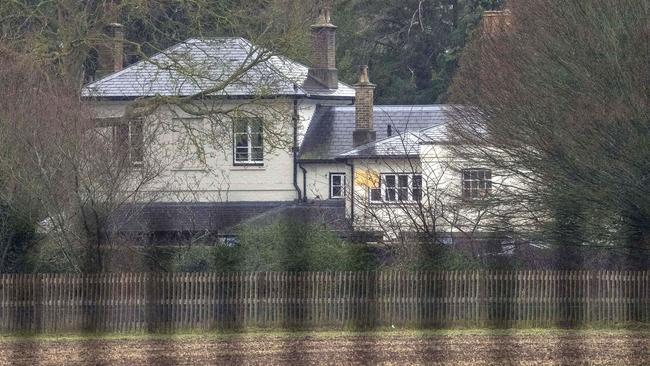 Meghan wanted to have the baby at home at Frogmore Cottage. Picture: \BACKGRID Australia