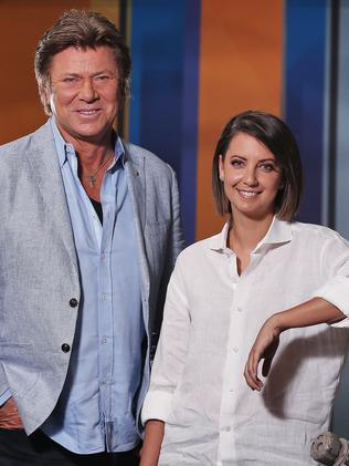 Dickie with Brooke Boney. Picture: Sam Ruttyn