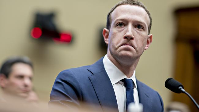 Facebook had the second biggest tax gap. Picture: Andrew Harrer/Bloomberg