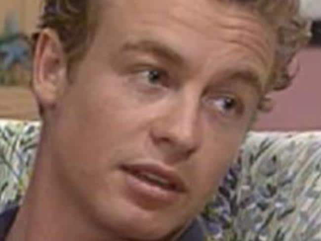Simon Baker went from  <i>Home and Away</i> to  <i>The Mentalist</i>. Picture: Supplied