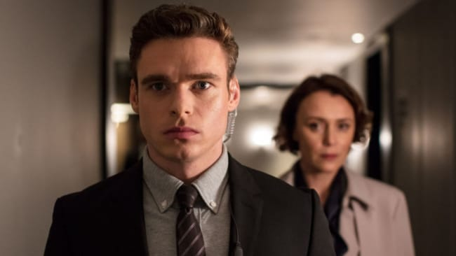 Richard and Keeley in 'Bodyguard'. Photo: BBC