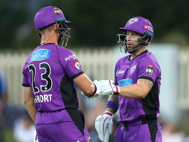 Matthew Wade and D'Arcy Short have been almost unstoppable in BBL08.
