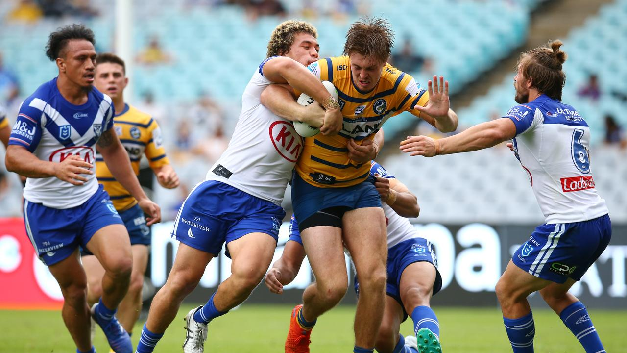 Will Johnson will be offloading Shaun Lane of the Eels this week.