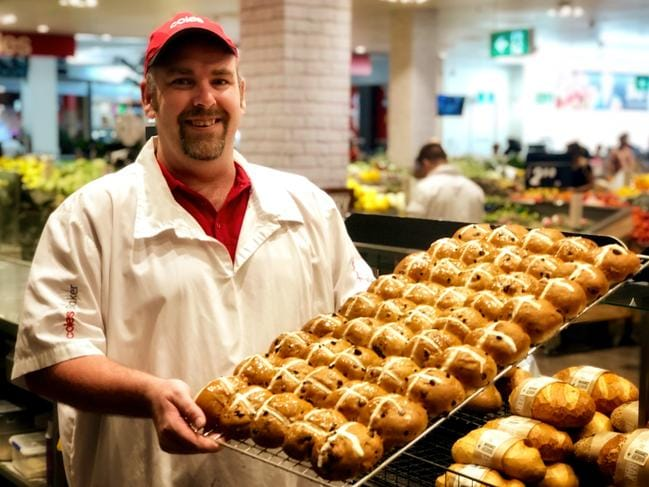 Customers were constantly asking for hot cross buns outside of the Easter period. Picture: Supplied