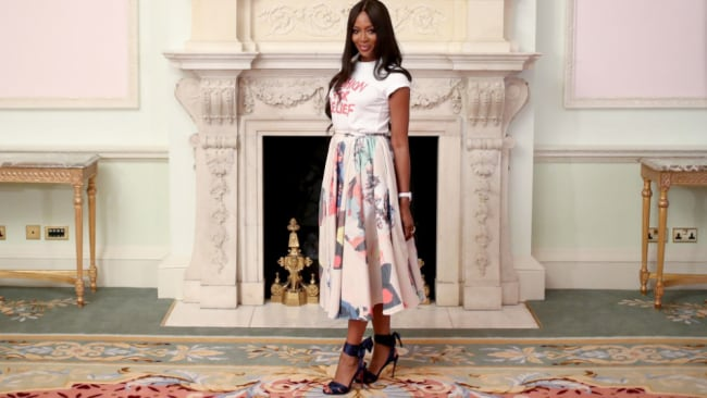Naomi calls for the need for diversity within the industry. Image: Getty