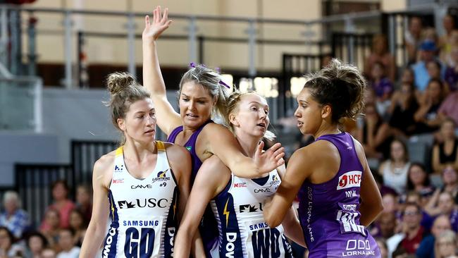 The Sunshine Coast Lightning also crucnched the Firebirds in the pre-season tournament.
