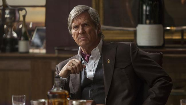 Geez, Colin Firth has aged a fair bit since the last one .... no, hang on, that's Jeff Bridges in a support role. Phew.