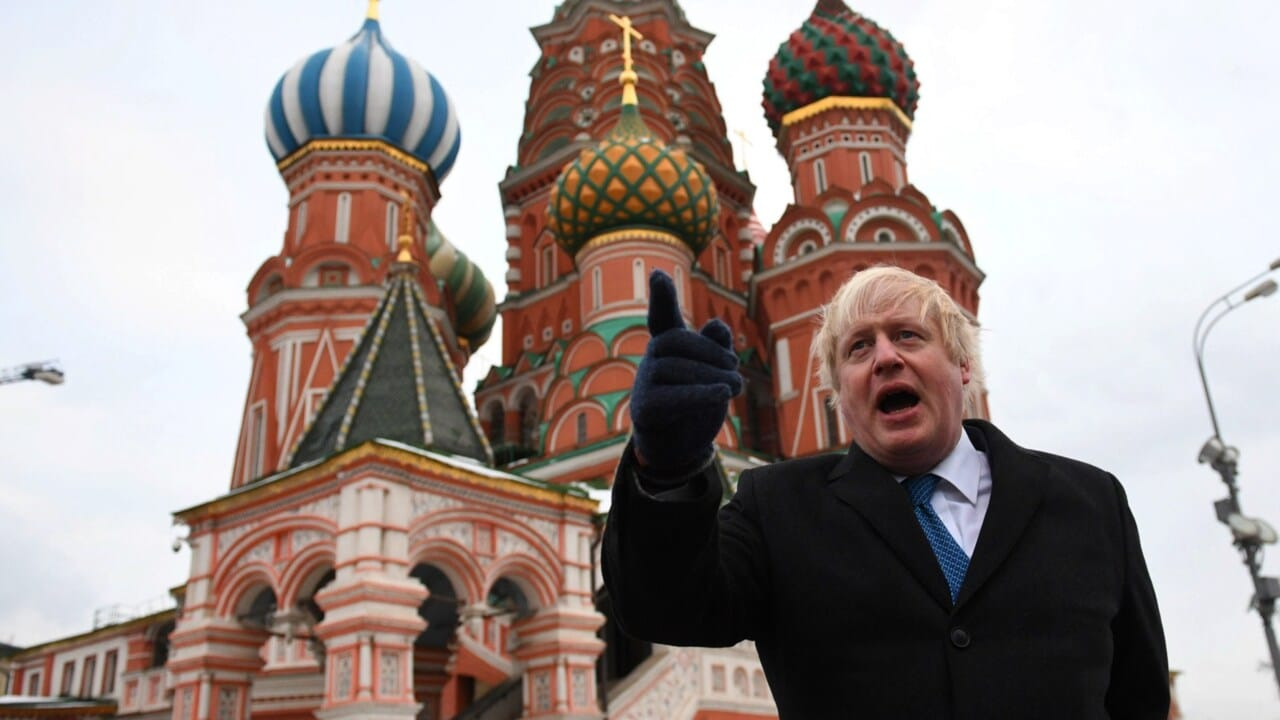 Russia stockpiled nerve agent for a decade: Boris Johnson