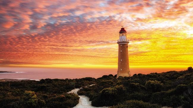 Parts of Kangaroo Island have not been touched by the recent fires.