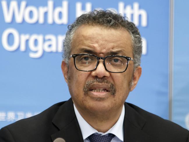 Tedros Adhanom Ghebreyesus, Director General of the World Health Organisation.