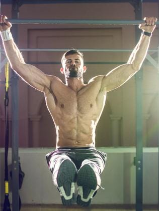 Pull-ups are a pronated or overhand grip.