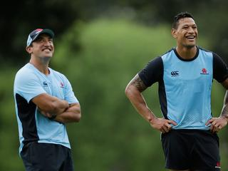 'Never be an excuse': Tahs coach takes blame off Folau's shoulders