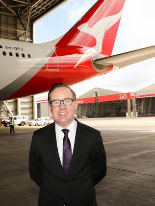 Qantas CEO Alan Joyce. Picture: Renee Nowytarger