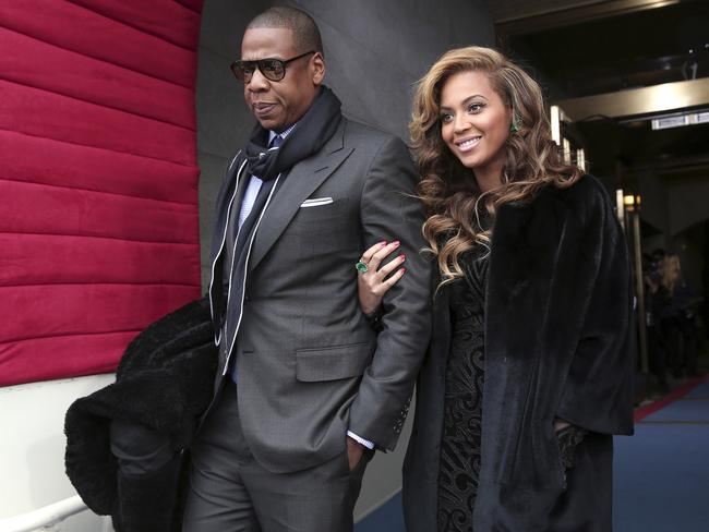Jay Z and Beyonce are expecting twins. Picture: AP Photo/Win McNamee, Pool