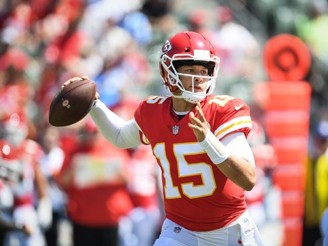 Quarterback Patrick Mahomes looks the real deal. Picture: Getty