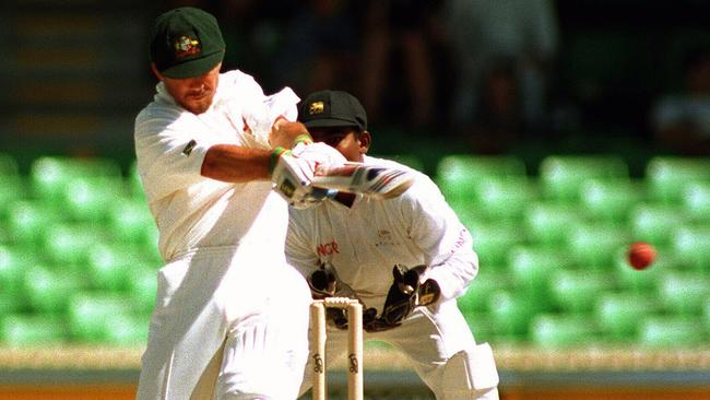 Ricky Ponting quickly rose from No.6 to No.3 in the Australian Test line-up.