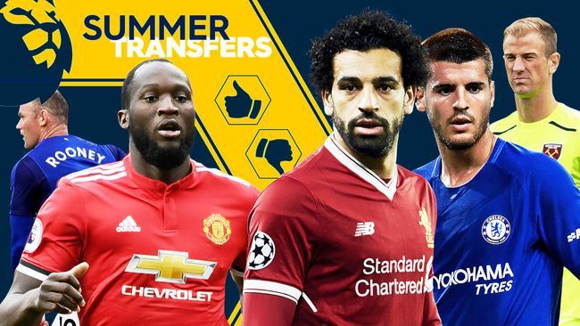 Rooney, Lukaku, Salah, Morata, Hart