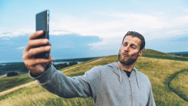 The 'duck face' is what happens we are given unlimited access to amazing technology. Picture: iStock
